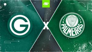 Goiás x Palmeiras: assista à transmissão da Jovem Pan ao vivo