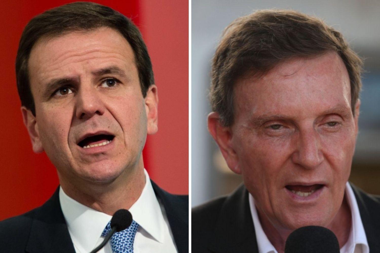 Eduardo Paes e Marcelo Crivella disputarão o segundo turno