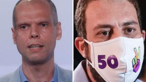 Ibope em SP: Covas tem 57% dos votos válidos e Boulos, 43%