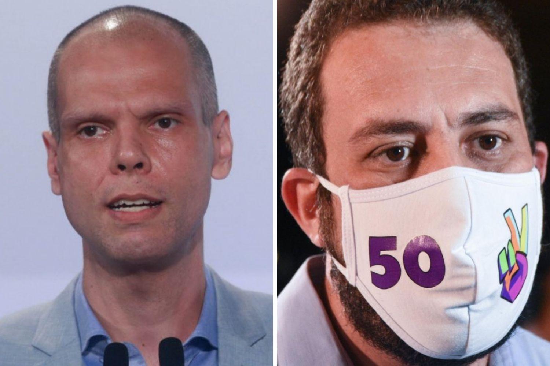 Bruno Covas e Guilherme Boulos disputarão o segundo turno em SP