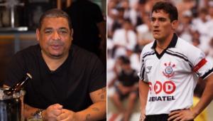 'É tretado com Gamarra?' Vampeta esclarece polêmica com ex-Corinthians