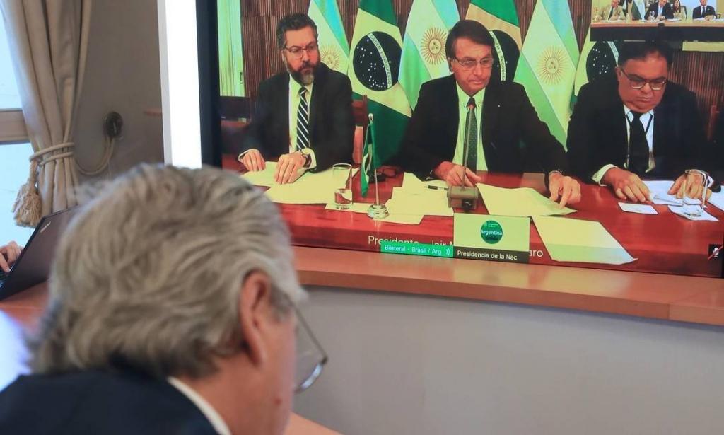 Amizade Brasil-Argentina: Bolsonaro conversa pela primeira com Alberto Fernandez – Jovem Pan