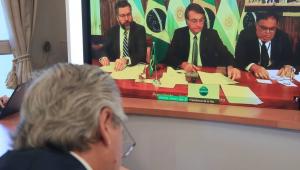 Amizade Brasil-Argentina: Bolsonaro conversa pela primeira vez com Alberto Fernández