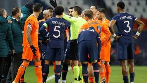 Uefa suspende árbitro acusado de racismo no jogo entre PSG e Instanbul Basaksehir
