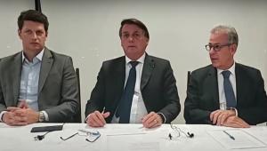 Bolsonaro diz que Brasil quer cooperar com outros países para preservar a Amazônia