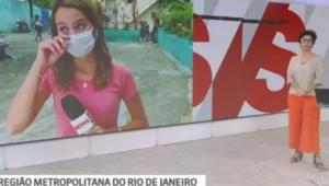 Repórter da GloboNews se emociona ao vivo ao noticiar morte de meninas no Rio