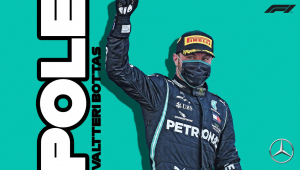 Sem Hamilton na jogada, Bottas consegue pole no GP do Sakhir