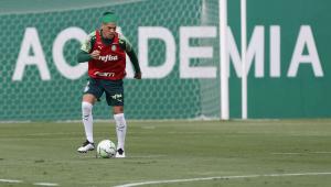 Gustavo Gómez treina e deve reforçar o Palmeiras na final da Libertadores