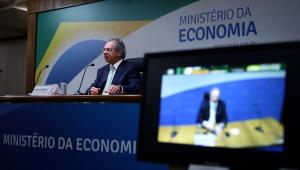 Ministro da Economia, Paul Guedes, defendeu a volta do auxílio emergencial para combater a Covid-19