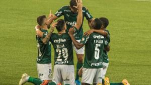 Palmeiras goleia Delfín por 5 a 0 e está nas quartas de final da Copa Libertadores