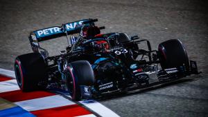 Substituto de Hamilton lidera treino no GP de Sakhir; Pietro é o penúltimo
