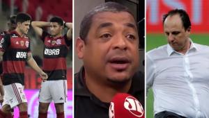 Vampeta defende Ceni e aponta culpado pela eliminação do Flamengo: 'Foi inconsequente'
