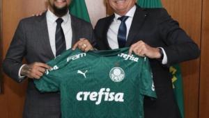 Felipe Melo testa negativo para Covid-19 após encontro com Bolsonaro