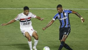 O São Paulo foi eliminado pelo Grêmio na semi da Copa do Brasil 2020