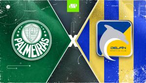 Palmeiras x Delfín: assista à transmissão da Jovem Pan ao vivo