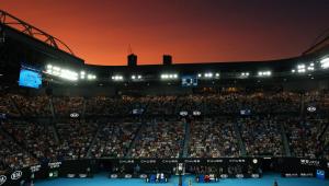 Para evitar contaminação da Covid-19, Australian Open terá alarmes e multa para atletas