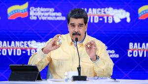 Maduro recomenda uso de droga 'milagrosa' contra Covid-19 na Venezuela