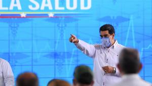 Maduro muda discurso e diz que Carvativir é complementar contra Covid-19