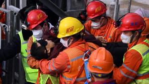 China: mineiros são resgatados depois de passarem 14 dias soterrados