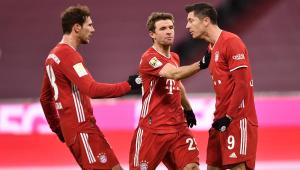 Gol de Lewandowski no Alemão