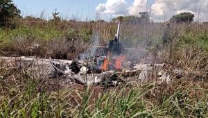 Acidente aéreo mata presidente e quatro jogadores do Palmas Futebol e Regatas