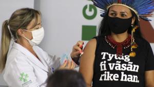 São Paulo inicia vacinação contra a Covid-19 em aldeias indígenas
