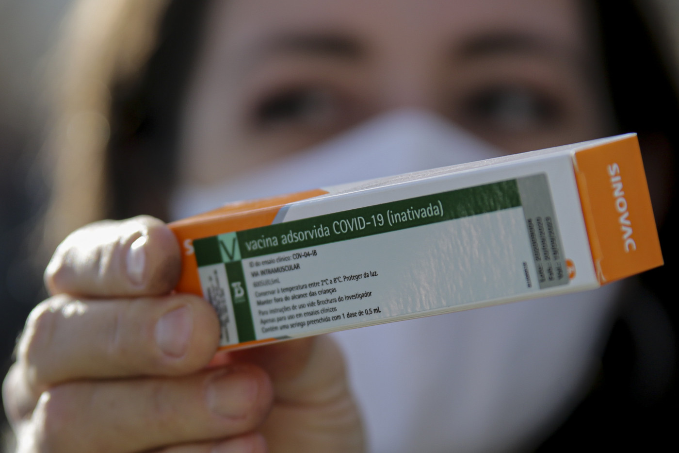 A CoronaVac é a vacina contra a Covid-19 produzida pelo Instituto Butantan