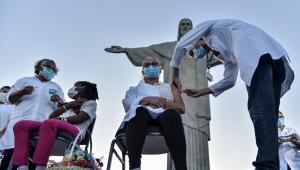 Rio de Janeiro e outros Estados começam vacinação contra a Covid-19