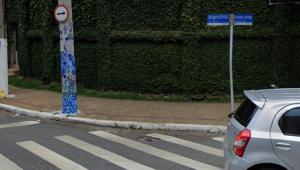Câmeras flagram tentativa de roubo a taxista em área nobre de São Paulo