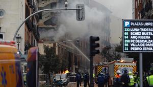 Explosão em Madri deixa 3 mortos e 11 feridos; Papa lamenta acidente