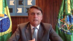 'Me acusar de facínora é discurso de quem não tem discurso', diz Bolsonaro sobre críticas de Doria