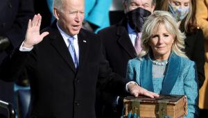 Joe Biden é empossado e se torna o 46º presidente dos Estados Unidos
