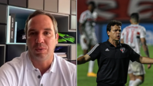 À JP, Caio Ribeiro desabafa sobre fase do São Paulo: 'O Diniz virou refém do próprio esquema'
