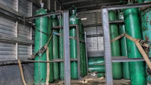 Aeronave que irá à Índia também fará transporte de cilindros de oxigênio para Manaus