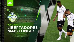 Corinthians PERDE para o Bragantino, e OSCILAÇÃO PREOCUPA! | CAMISA 10 - 26/01/21