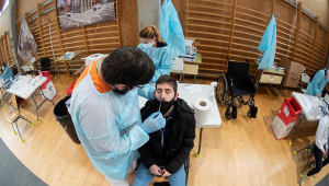 Na Espanha, avanço da pandemia do novo coronavírus ameaça saturar hospitais