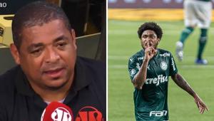 'Me admirou Rony e Luís Adriano não segurarem a bola', diz Vampeta sobre derrota do Palmeiras