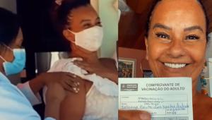 Solange Couto rebate críticas por ter sido vacinada: 'Não desrespeitei nenhuma lei'