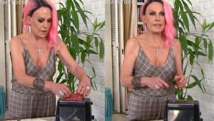 Ana Maria Braga queima torradeira ao vivo no 'Mais Você'; assista