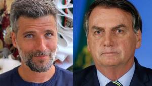 Bruno Gagliasso detona Bolsonaro: 'Você vai cair porque você é um merda'
