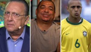 Roberto Carlos tem ódio do Galvão Bueno? Veja o que Vampeta respondeu