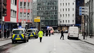 Homem é preso por esfaquear pessoas no centro de Frankfurt, na Alemanha