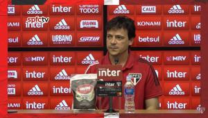 'Temos que melhorar e voltar a vencer', confessa Fernando Diniz após derrota para o Santos