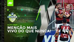 Flamengo BATE Palmeiras e SEGUE FORTE na luta pelo TÍTULO! | CAMISA 10 - 22/01/2021