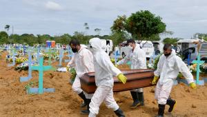 Em 24 horas, Brasil contabiliza 1.555 mortes e mais de 69 mil casos da Covid-19