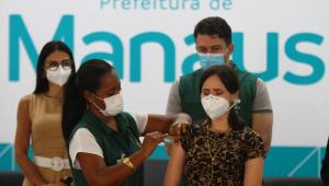 Justiça Federal suspende entrega de todas as doses de vacinas AstraZeneca no Amazonas