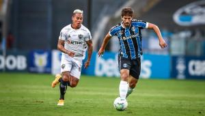 Grêmio e Atlético-MG empatam em 1 a 1 e perdem chance de se aproximarem da liderança
