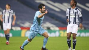 City goleia West Bromwich por 5 a 0 e dorme na liderança da Premier League