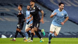 Manchester City vence Aston Villa e é o novo líder do Campeonato Inglês