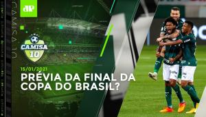 HOJE TEM! Palmeiras faz JOGÃO contra o Grêmio pelo Brasileiro! | CAMISA 10 - 15/01/21